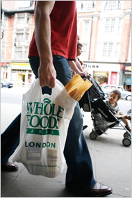 Whole Foods Chain To Stop Use Of Plastic Bags New York Times 01 23 08
